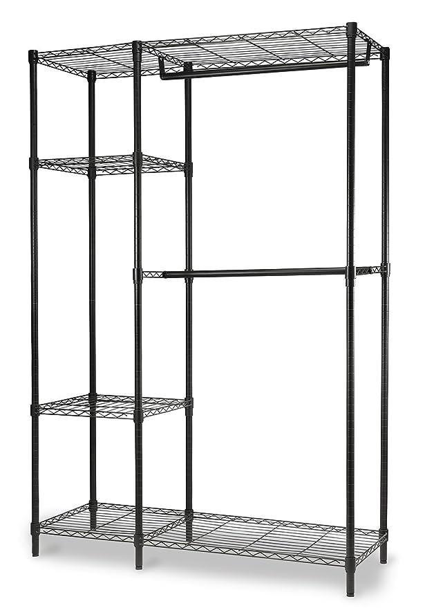 Amazon.com: home-it Garment rack Heavy Duty Wire Shelving ...