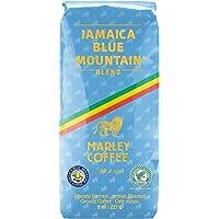 Marley Coffee Smile Jamaica, Jamaica Blue Mountain Blend Ground Coffee, 8 Ounce