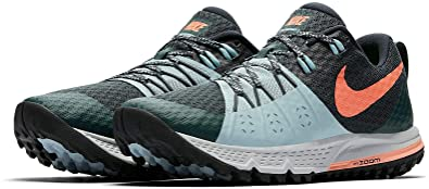 4294e6922f23 Nike Womens Air Zoom Wildhorse 4 Womens Trail Running Hiking Shoes (6 B US)