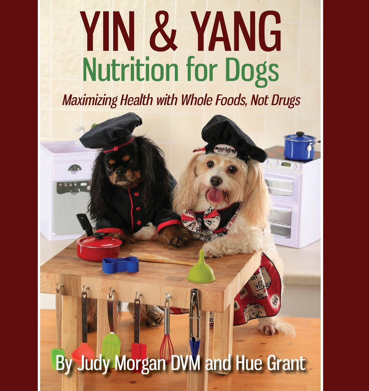 Yin & Yang Nutrition for Dogs: Maximizing Health with Whole Foods, Not Drugs by Thirty Six Paws Press