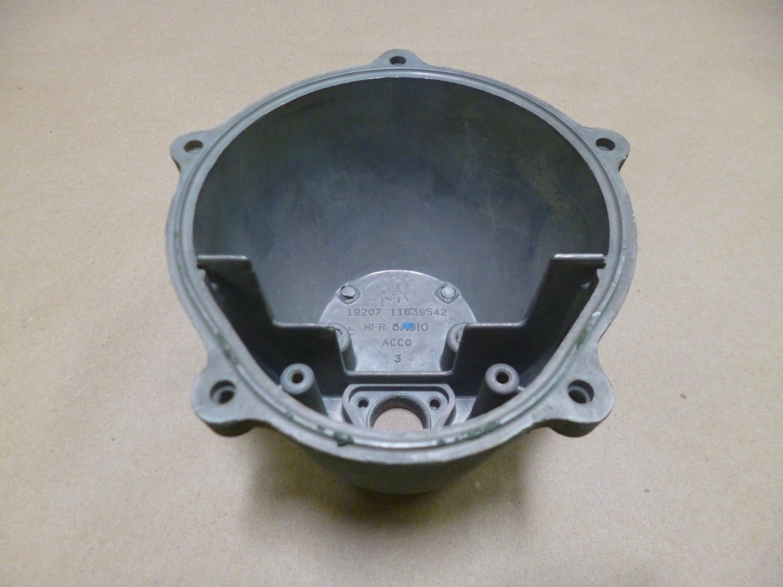 11639542 Military Excavator HMMH Front Light Lens HOUSING Aluminum 6220011547699