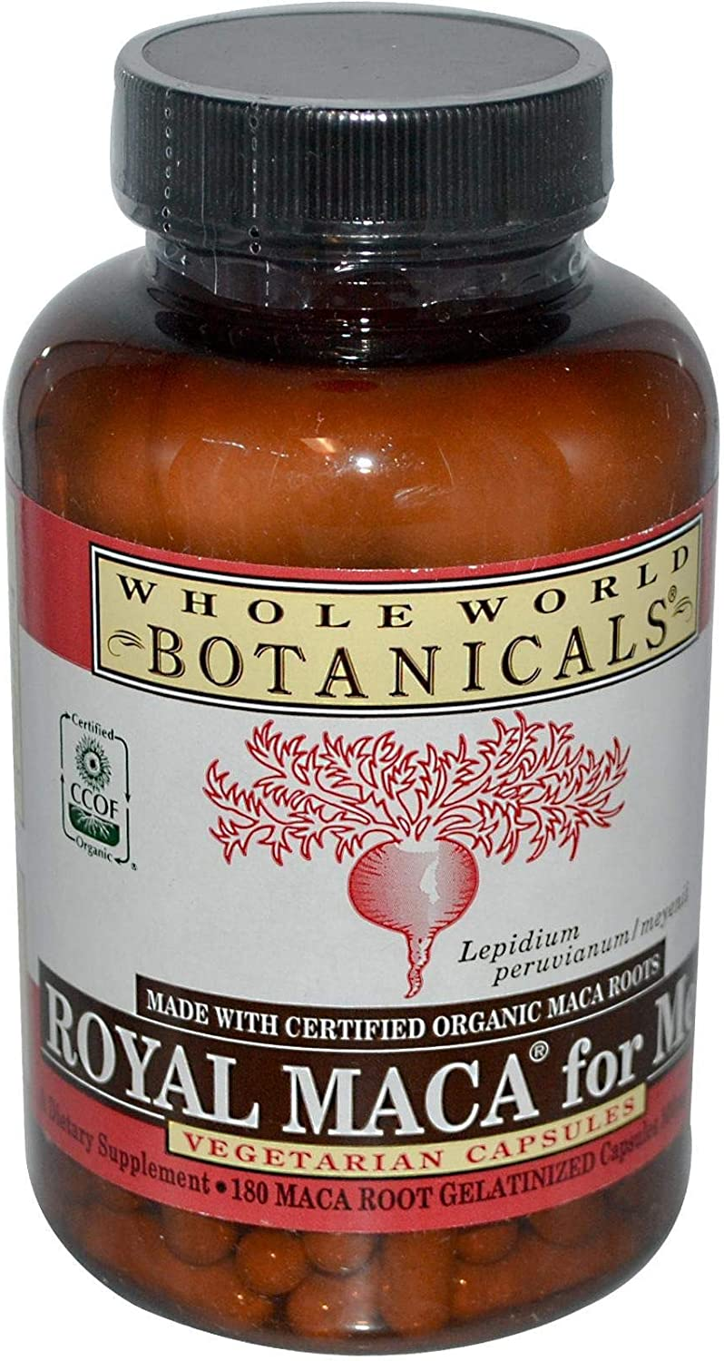 Whole World Botanicals, Maca for Men, 180 Capsules