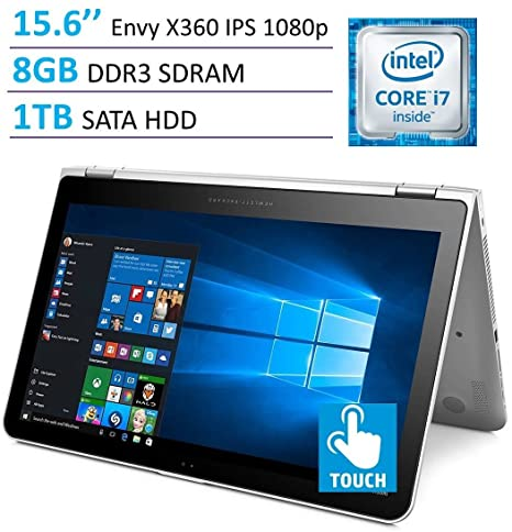 Amazon.com: HP Envy x360 15.6in Touchscreen 2-in-1 IPS FHD ...