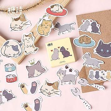 45pcs Retro Dog Animal Adhesive Stickers DIY Decor Diary Stickers Box Package SL