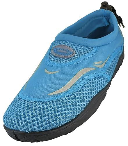 Little Kid//Big Kid Cambridge Select Kids Quick Dry Mesh Drawstring Non-Slip Water Shoe