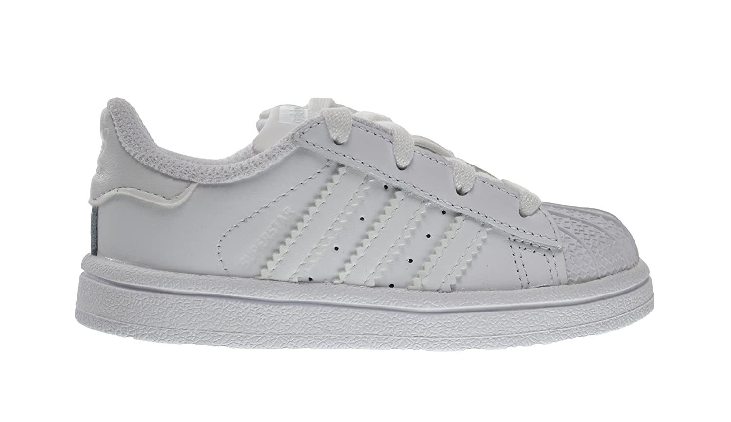 8 M US Adidas Superstar Foundation I Baby Toddlers Shoes Running White Ftw b23663