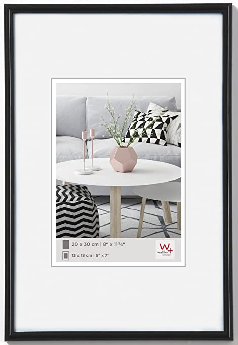 Walther design KB045H Galeria picture frame, 11.75 x 17.75 inch (30 ...