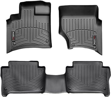 WeatherTech Rear FloorLiner for Select Audi Models Black