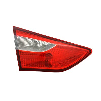 TYC 17-5404-00-1 Compatible with Hyundai Elantra GT Replacement Reflex Reflector: Automotive