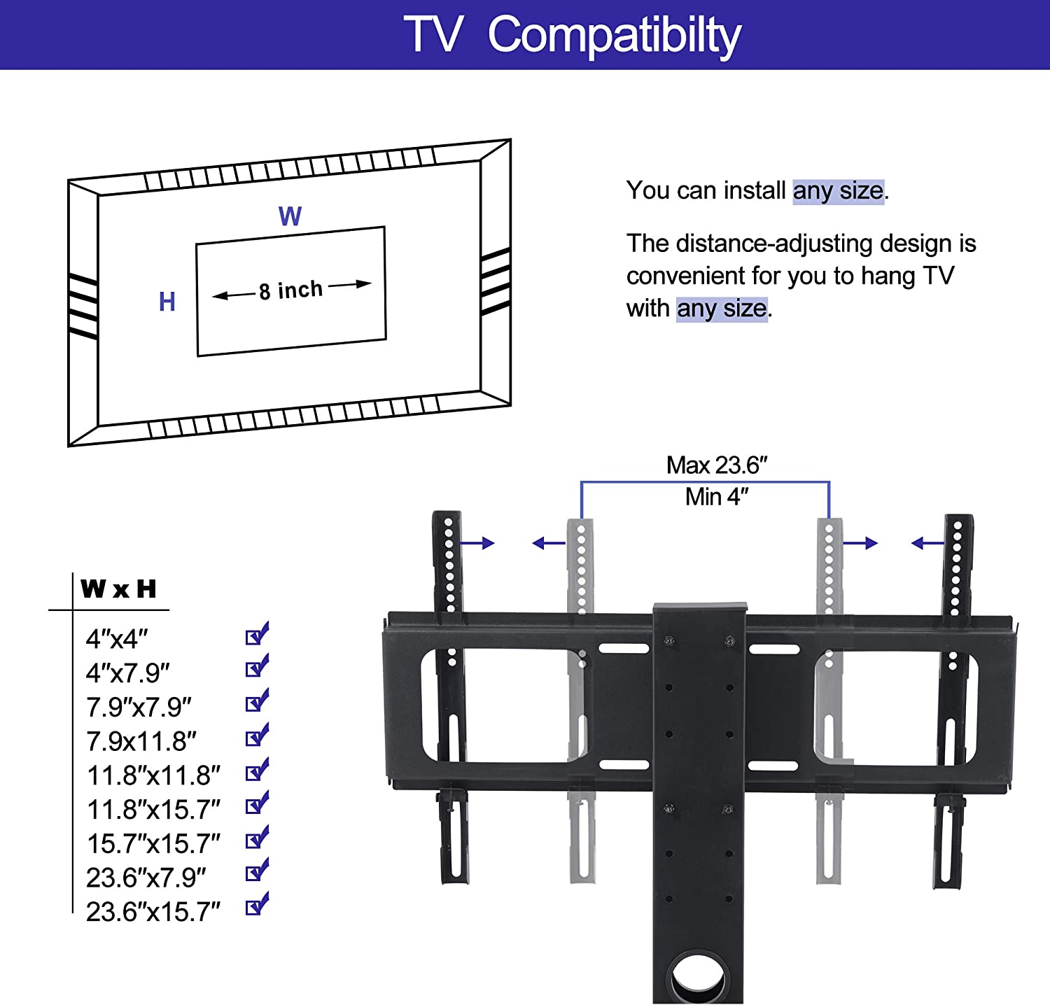 IANIYA Swivel Floor TV Stand with Mount Height Adjustable Bracket Entertainment Stand for 32 to 65 inch Plasma LCD LED or Curved Screen TV 3-Tier Tempered Glass Universal Media Stand Floor tv Stand