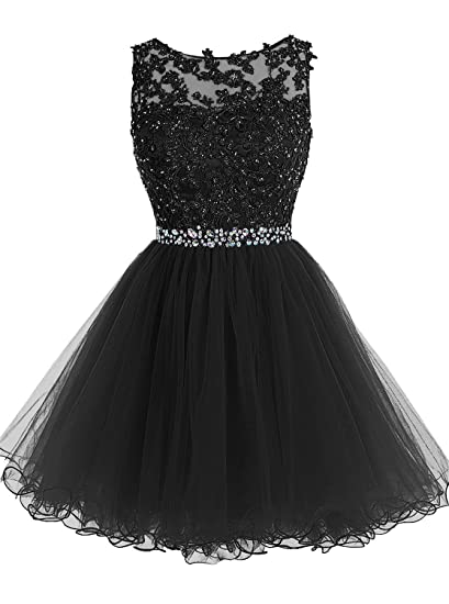 New Sposa Short Beaded Homecoming Dresses Tulle Applique Prom