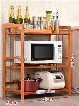 Muebles de cocina Floor Microondas Racks de horno ...