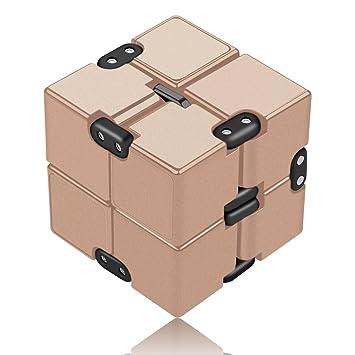 Amazon.com: Abrir a amar Infinity Cube Fidget Toy – Juguete ...
