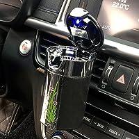 FMS Cenicero solar Auto Coche con luz azul