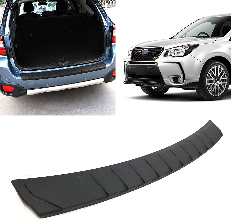 Amazon Com Toryea Rear Bumper Protector Accessory Trim Cover Compatible With Subaru Forester 2013 2014 2015 2016 2017 2018 Automotive