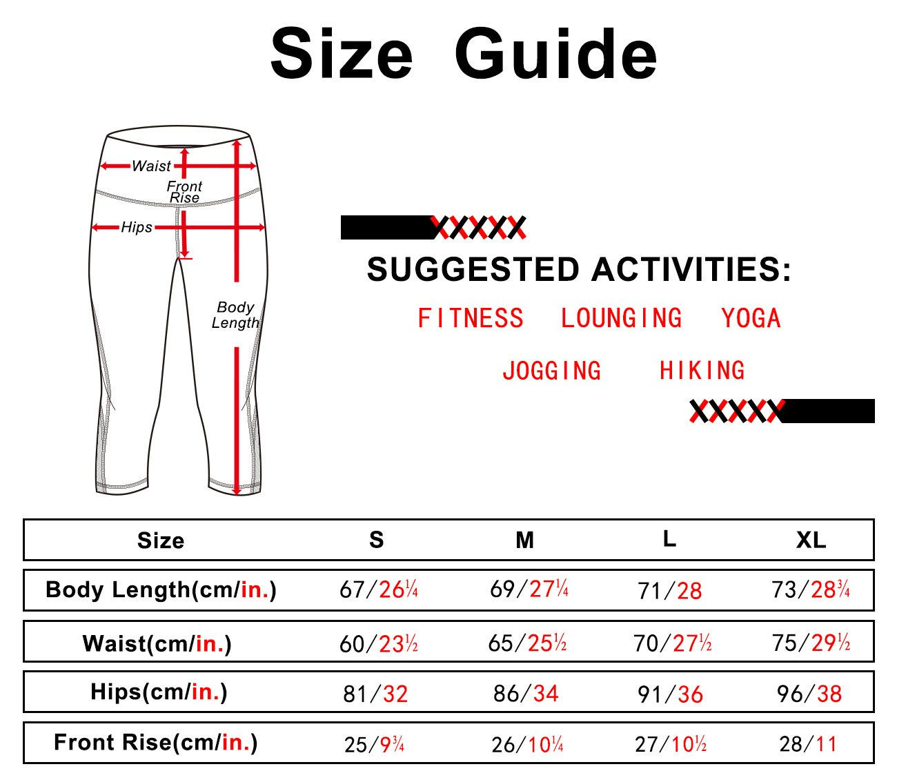 icyzone Yoga Pants For Women - High Waisted Workout Leggings, Activewear Athletic Capris Exercise Tights(Charcoal, S)