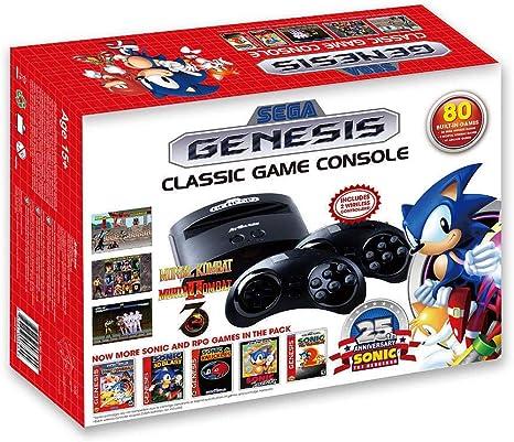 Consola Retro Sega Mega Drive Wireless - Edición Sonic 25th: Amazon.es: Videojuegos
