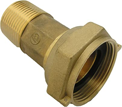 Lasco 26 9005 Brass Water Meter Coupling 1 Inch Amazon Com