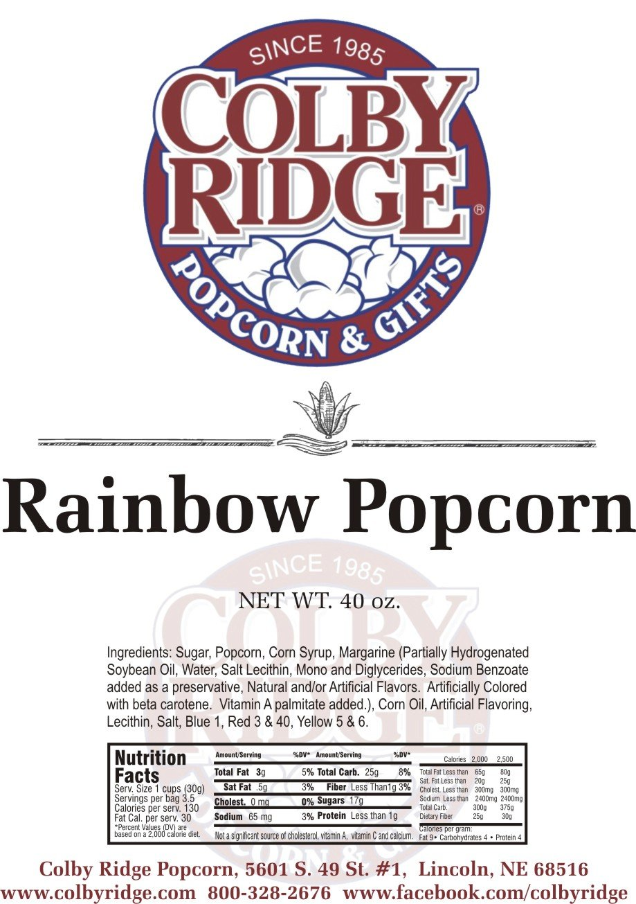 8 Gal. (128 Cups) Popcorn Sampler Colby Ridge Popped Popcorn by Colby Ridge (Image #9)
