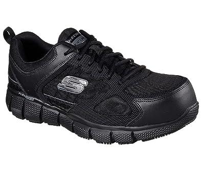 SKECHERS Work Men's Telfin Black Boot