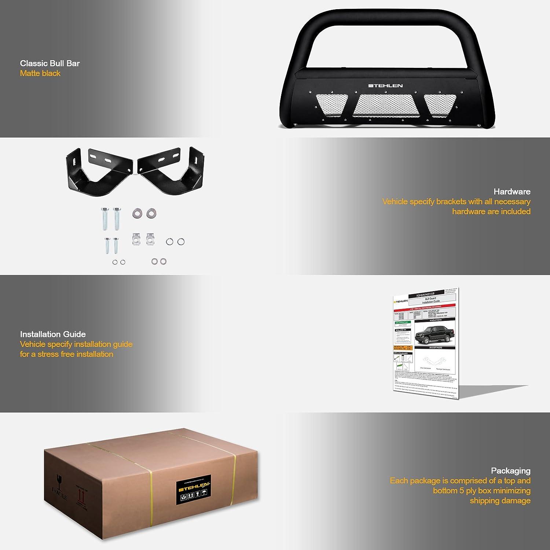 Designer Stehlen amazon com stehlen 714937182998 3 studded mesh series bull bar