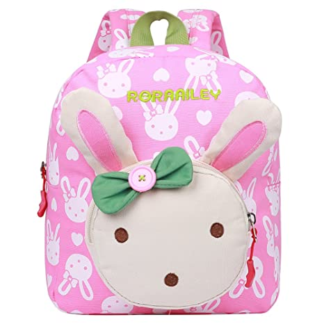 555a7f2210a6 EGOGO Rabbit Animals Kids Backpack Baby Girls School Bag Toddler Daypack  E525-1 - Pink  Amazon.in  Bags