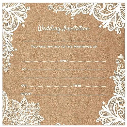 Cheap Online Wedding Invitations: Cheap Wedding Invitations: Amazon.co.uk
