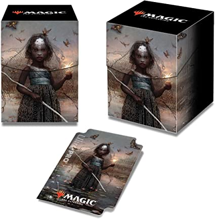 Deck Box Ultra Pro Magic the Masked PRO-100 The Gathering Commander 2018 Estrid