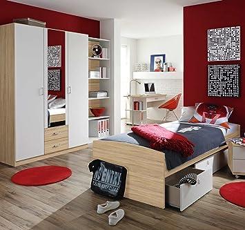 Kinderzimmer Komplett Set | Jugendzimmer Kinderzimmer Komplett Set Jugendmobel 4 Teilig