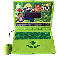 Gooyo My Kids 10 Super Alien Kids Electronics Laptop, 22 Activity English Learning and Games Toy Laptops for Kids Boys Girls
