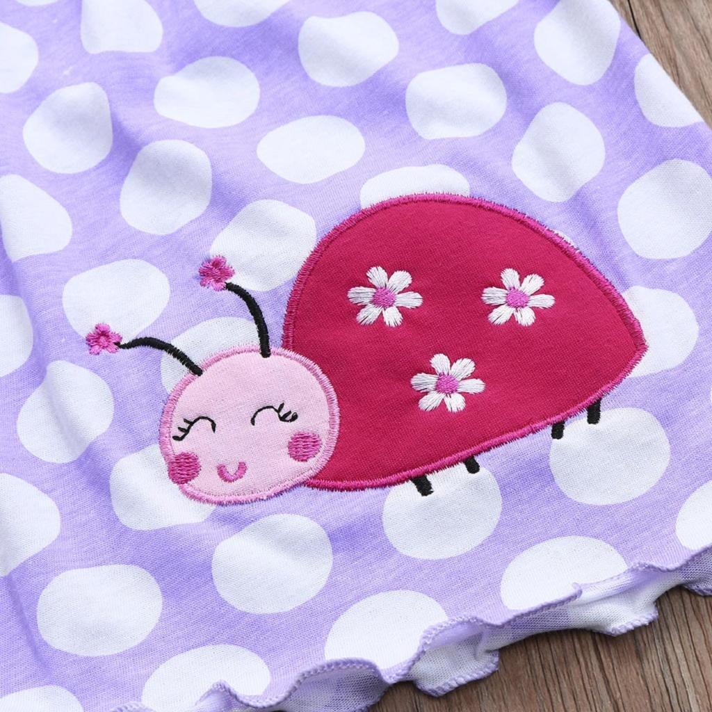 Ropa Bebe Ni/ña Verano 2019 SHOBDW Vestidos De Beb/é Ni/ñas Reci/én Nacida Encaje Floral Vestido De Frutas Mini Vestidos Sin Mangas De Fiesta Lindo Beb/é Pijamas