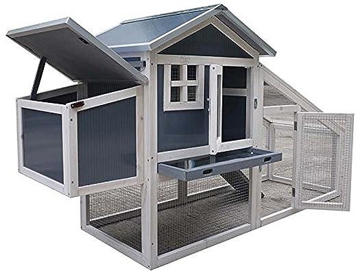 Feelgooduk Nch10 Kunststoff Und Holz Huhnerstall Hen House Geflugel