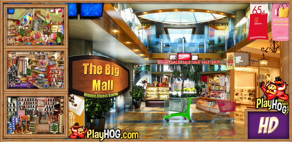 Big Mall - Find Hidden Object Game - A Mall Find