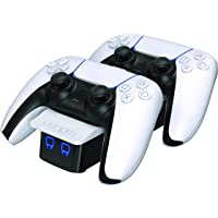 Venom Twin Docking station for Playstation 5 / PS5 charging station for DualSense Wireless controllers - White