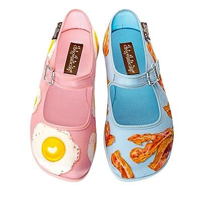 250e9025b65b Hot Chocolate Design Chocolaticas Breakfast Women s Mary Jane Flat  Multicoloured HCD 35