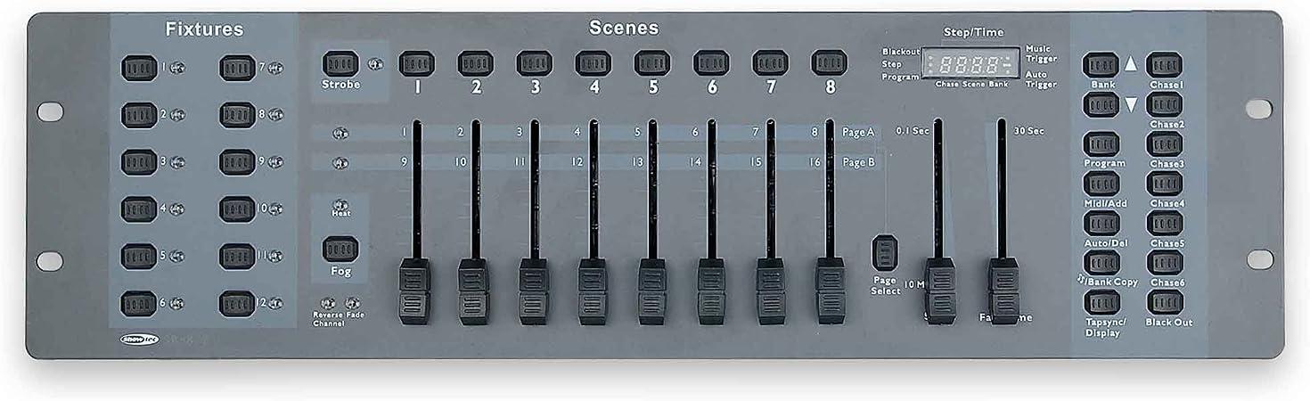 Showtec - Sm8/2 controlador dmx 50700