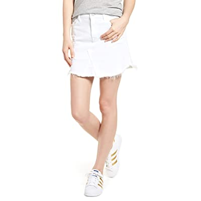 7 For All Mankind Women's Skirt with Frayed Hem: Clothing