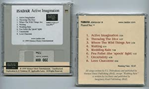 "Isadar - ""Active Imagination"" (Yamaha Disklavier PianoSoft Player Piano Music Software compatible) on 3.5"" 2DD 720kb floppy disk"
