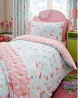 Booizzi Cute Unicorn Rainbow Colour Wall Sticker Set Child Bedroom ...