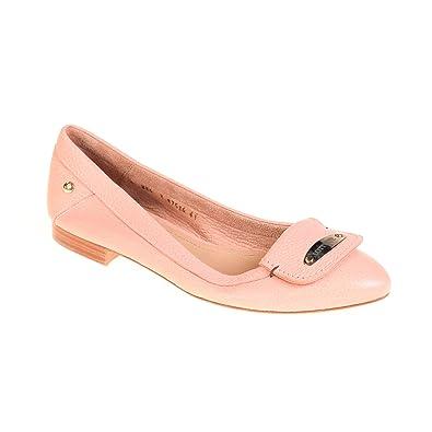 on sale 0d860 fabf2 Lottusse Damen Ballerina Leder Rosa, Schuhgröße:41: Amazon ...