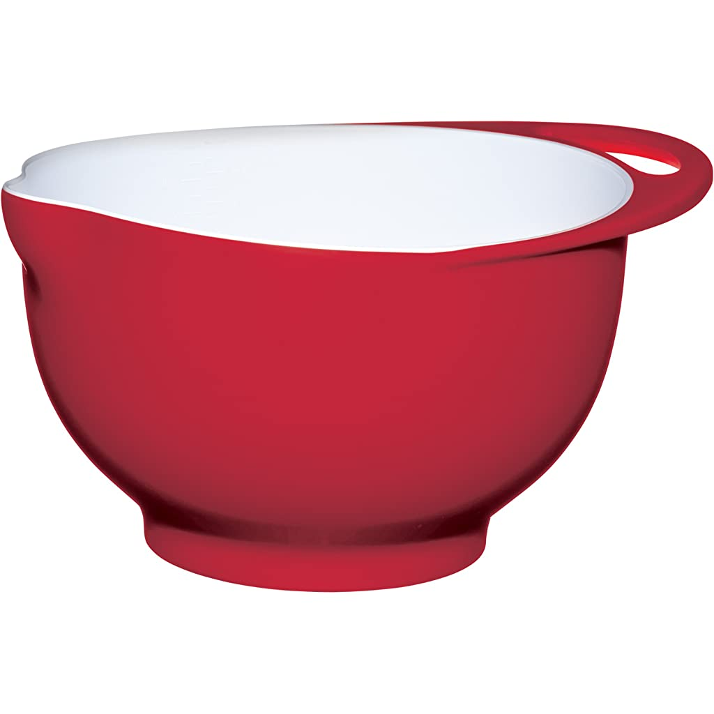Colourworks Red Melamine Mixing Bowl
