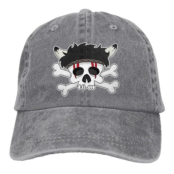 SDQQ6 Indian Skull Horns Adult Cowboy Hat Baseball Cap Adjustable Athletic  Making Vintage Hat for Men 40aa568fed1