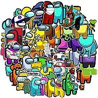 OfferMax 50Pcs/Set Anime Stickers Among Us Stickers Trust No One Graffiti Stickers Luggage Guitar Skateboard Among Us…