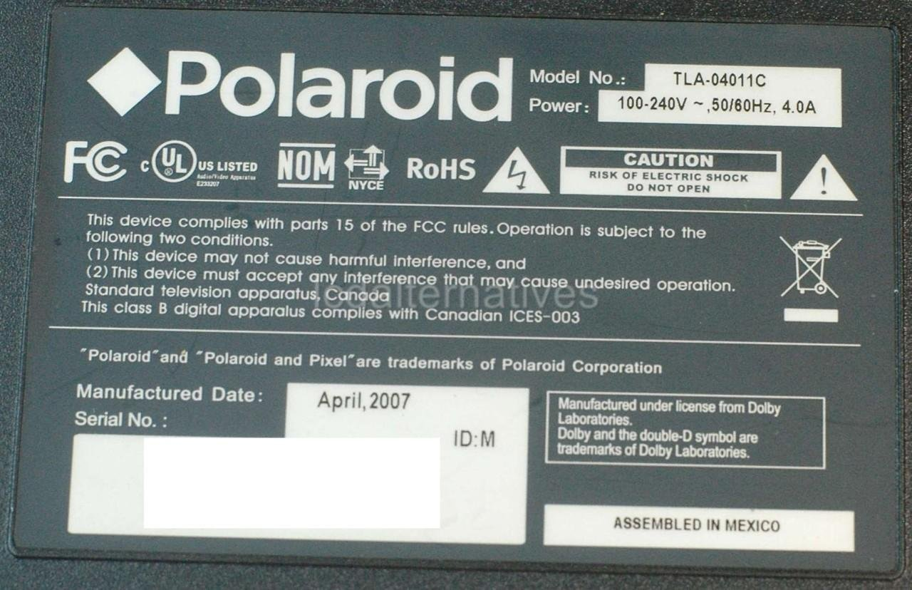 list of professional skills%0A Polaroid TLA     C LCD TV Repair Kit  Capacitors Only  Not the Entire  Board  Amazon com  Industrial  u     Scientific