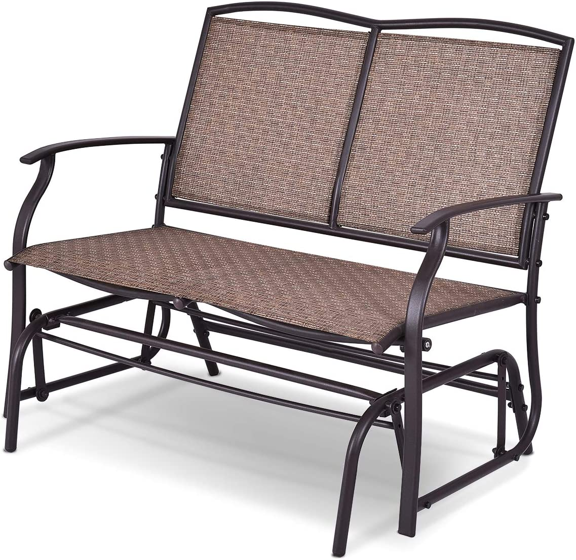 Happygrill Patio Glider Chair Bench