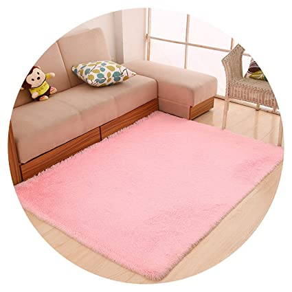 Amazon.com: Solid Shaggy Modern Living Room Bedroom Carpets ...