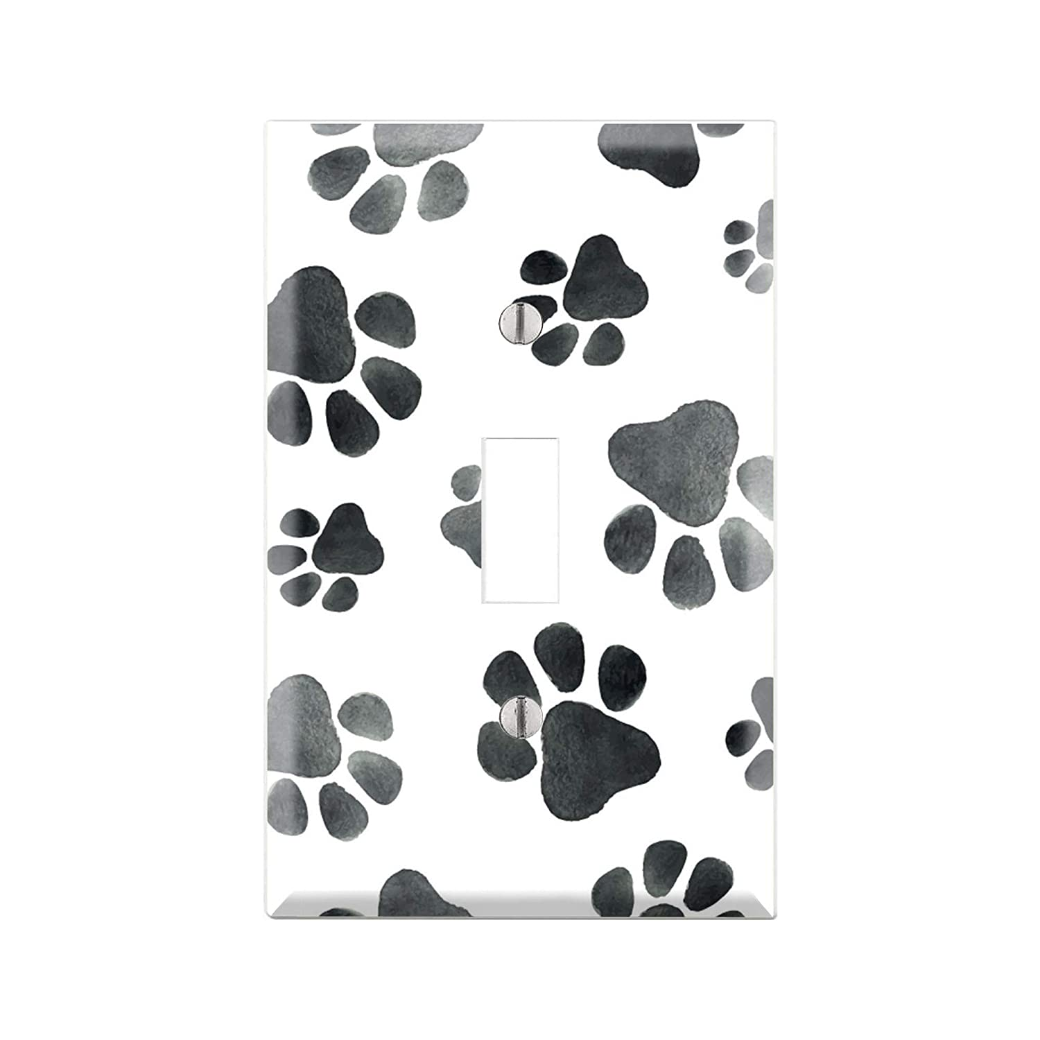 Amazon.com: DOG PAWS Light Switch Cover Wall Plate, DOG Graphics Wallplate,  Outlet Cover, Single Toggle, Single Rocker, Outlet Cover, Gift for DOG  Lover, DOG room decor, DOGS Wall Plate Cover TF111: Handmade