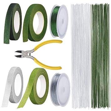 Kit de herramientas de tallo floral con cortador de alambre, 200 ...