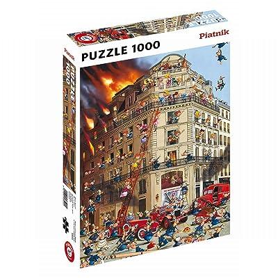 Piatnik 00 5354 Ruyer - Fire Brigade Puzzle: Toys & Games