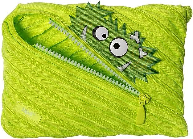 Zipit ztmj de AR de gzz estuche de un único Cremallera larga, lavable, color verde lima: Amazon.es: Oficina y papelería